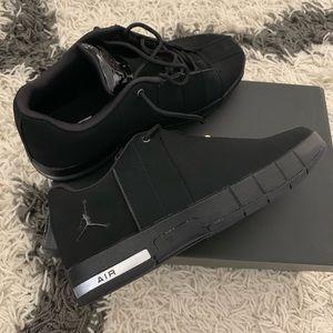 Air Jordan TE Low Classic, All Black New in Box